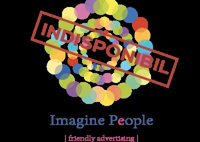 Logo industrii creative, logo culori, imaginatie, logo energic