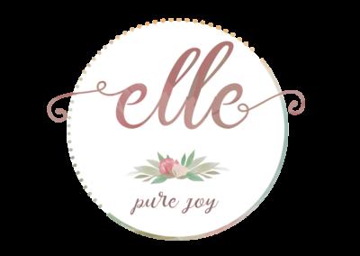 Logo floral, atelier, florarie, plante, culori